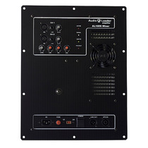 Amplificador In Box Áudio Leader Al Mixer 1000 1000w Rms Som