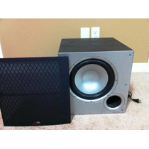 Polk Audio Psw10 10 Polegadas Sub(preto) - Impecável