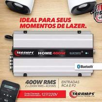 Taramps Home 400 W Rms Bivolt Bluetooth Som Residencial