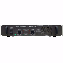 Amplificador Potência 2 Canais 1125w W Power 4500 Ciclotron