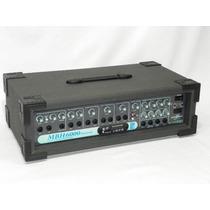 Cabeçote Amplificado Multiuso Isabeat Mbh 6000 Usb Bluetooth