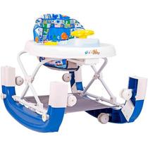Andador Infantil 8 Rodas E Balanço Styll Baby Azul