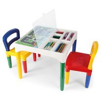 Brinquedo Mesinha Infantil Didático C/ Acessórios Poliplac