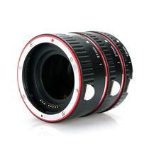 Tubo Extensor Macro Canon Af Vermelho Rosca De Metal