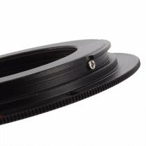 Anel Adap. Rosca M42 Sem Chip P/ Todas Cameras Canon Eos Ef