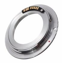 Adaptador M42 Com Chip Para Canon Eos - Pronta Entrega!