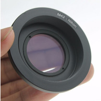 Anel Adaptador Lente M42 - Camera Nikon (foco No Infinito)