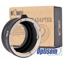 Adaptador Sony (e-mount) Nex Para Lentes Canon Eos