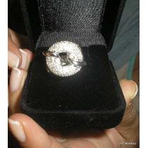 Inclivel Pave Anel Designer Em Diamantes Em Ouro 18k Maciço