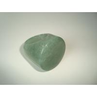 Anel De Pedra Natural Quartzo Verde Polido Aro 19 - 05