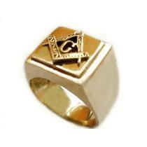 Maçonaria Em Ouro 18k (maçom) / Anel