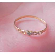 Anel De Ouro Amarelo Com 3 Pedras De Diamante 18k-750
