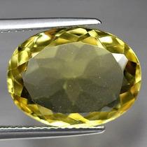 8.21ct Aaa! Natural Pedra Preciosa Quartzo Amarelo Lemon