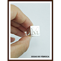 Anel Com Letra Em Prata 950 Frete Grátis