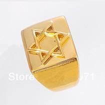 Anel Estrela De David / Selo De Salomão, Aro 30