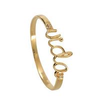 Anel De Noivado Meia Aliança Ouro 18k Diamantes Escrita Vida