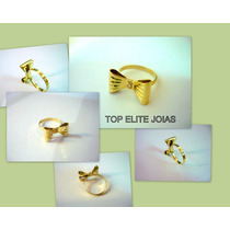Anel Ouro 18k/750 Modelo Laço Tope