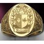 Anel Brasão De Familia Ouro 18k Maciço De Luxo