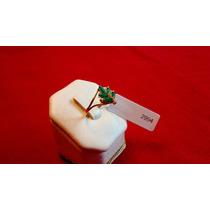Lindo Anel Em Ouro 18k - Esmeralda E Zirconia - Garantia