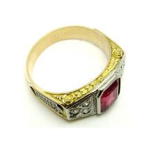 A9418-06740 Anel Ouro 18k- Formatura Direito Com Diamantes