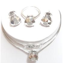 Vivara! Diamantes Corrente C/ Pingente Pavê Ouro18k 750