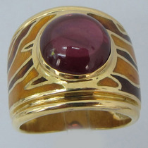 13602 Anel H.stern De Ouro 18k 750 Y