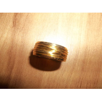 Maravilhoso Anel Ouro Vermelho 18k 750 - 11 Gramas - Aro 17