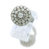 Jóia Chuveirinho Com 27 Diamantes Em Ouro Branco J9417