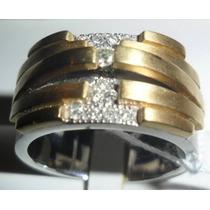 Ivi1388 =anel Vancox O. Branco, Amar.vivara 18k,diamantes!!!