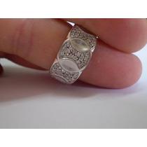 Ivi1388 =anel Vivara O.branco 18k,66 Diamantes !