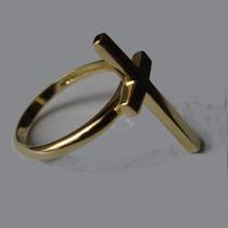 Nelcy Oias Ecia Anel Cruz Ouro 18k 750 R,i