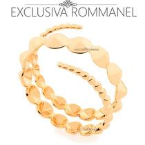 Rommanel Anel Espiral Formado Por Bolinhas Unidas 512160