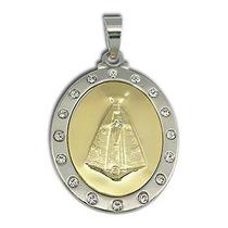 Medalha De Nossa Senhora Aparecida 18k