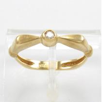 Esfinge Jóias - Anel Solitário Diamante 6 Pts Aro19 Ouro 18k