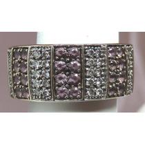 Pocao2005- Anel De Ouro Branco 18k Diamantes Grife Vivara