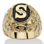 Onyx Dos Homens P-size Ring-initial Initial 9