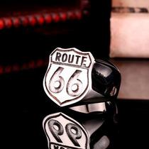 Anel Motoqueiro Route 66 Harley Davidson Rock Frete Grátis