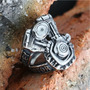 Anel Em Aço Inox 316l Motor Harley Davidson Importado Lindo!