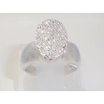 Boqueiraojoias Anel Chuveiro Oval 46 Diamantes Ouro 18k-750