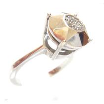 Vivara Anel Pavê Ouro 18k 750 Diamantes