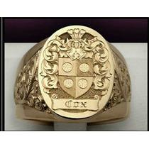 Anel Luxury Masculino Ouro18k Artisticos (personalizados)