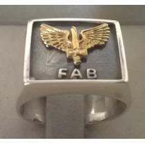Anel Prata Força Aérea Brasileiro