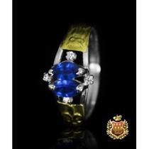 Anel De Formatura Em Prata Com Emblemas Em Ouro Af017