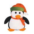 Pinguim Pelucia 23cm Com Chapeu Em Pé Antialergico Unisex
