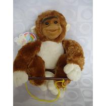 Macaco De Pelucia Gorila Brinquedo Decoração Presente