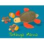 Tartaruga Com 2 Ovos Com Filhotes - Animais Pelúcia Grávidos
