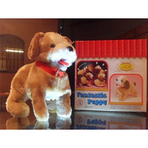 Cachorrinho Pelucia Puppy Anda Late E Da Cambalhotas - Co018