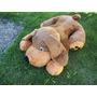 Fofura Gigante Labrador Deitado 80cm Com Frete Gratis.