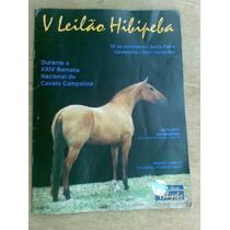 Folheto S Cavalo - V Leilão Hibipeba = Campolina