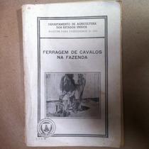 Livro Ferragem De Cavalos